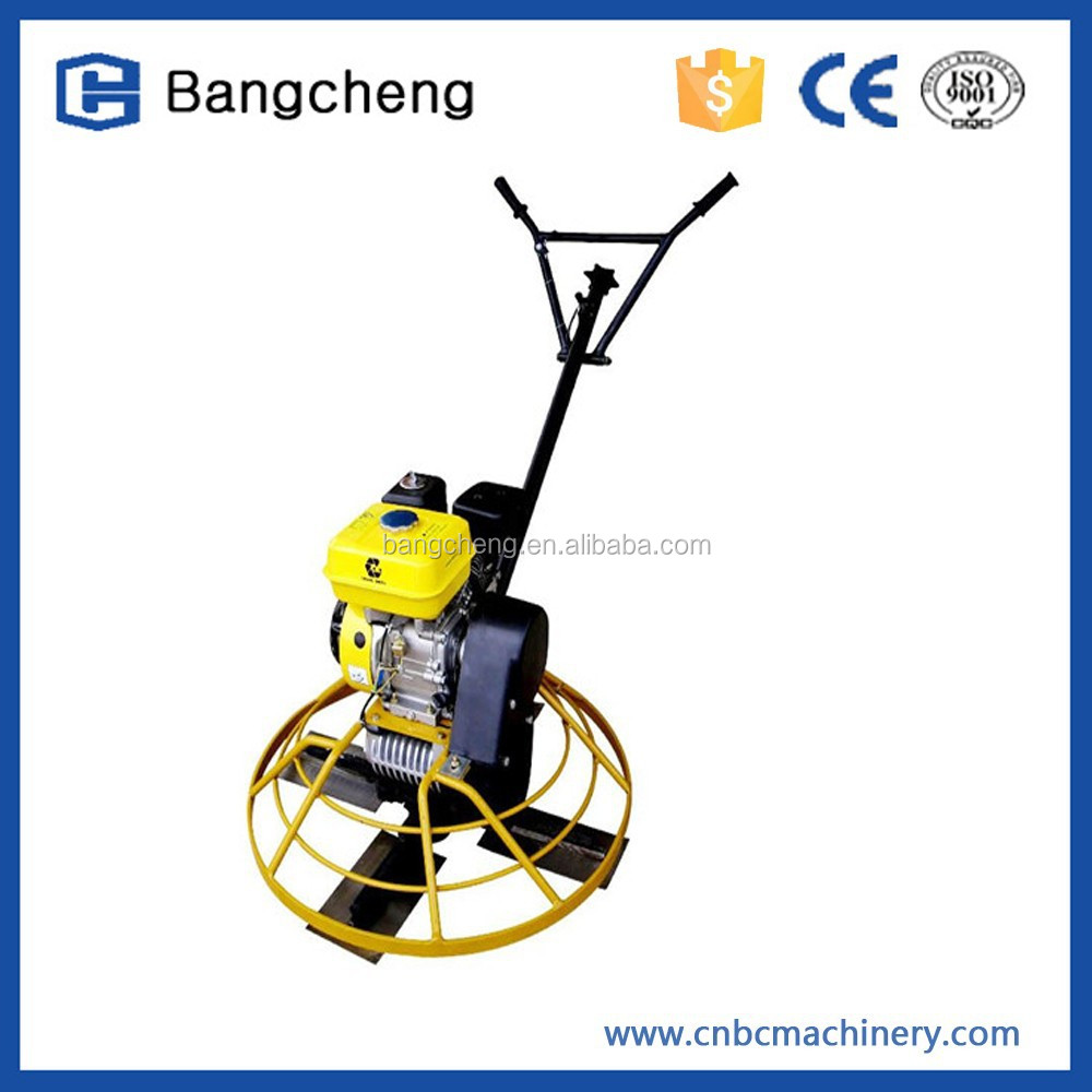 Concrete finish equipment Hongda engine construction plastering trowel
