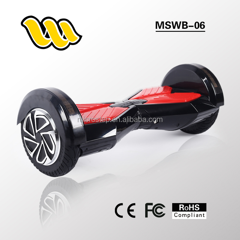 Outdoor sports products 8 inch tire two wheel smart balance electric scooter with bluetooth