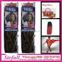 Stefull hair good quality no tangle japanese fiber cheap 60 inch synthetic hair
