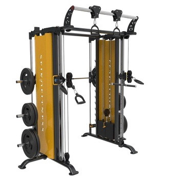 Commercial gym equipment  smith and functional trainer for gym setup