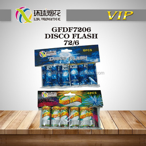 GFDF7206 DISCO FLASH GROUND COLORFUL FLASH TOYS OUTDOOR 1.4G UN0336 CHINESE LIUYTANG GLOBAL FIREWORKS