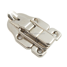 Padlockable Toggle Case Latch, Locking Box Chest Draw Clasp Trunk Snap Catch Lock for Wood Leather Craft Toggle Latch
