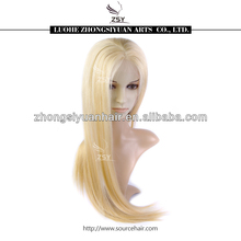 ZSY popular fashionable factory low price cheap freestyle full lace remy hair wigs