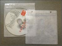 Plastic cd sleeves in media packaging/PVC cd sleeves