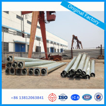Electric Transmission Line Steel Power Pole