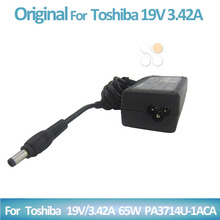Laptop Battery Charger AC Adapter for Toshiba 19V 3.42A PA 1650 01 02 21 65w Notebook Power Supply Cord cargadores portatiles