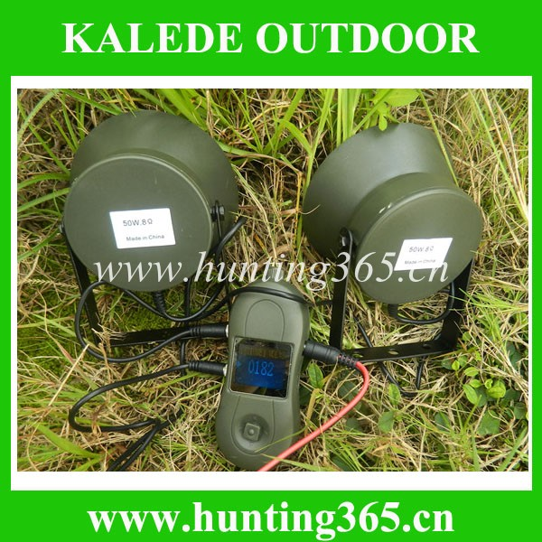 Best selling quail sound mp3 duck and goose decoy cp-391 with 50W speakers hunting bird caller