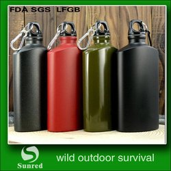 durable new coming black water bottle