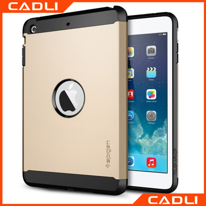 Hot Sale Hybrid 2 In 1 Armor PC+TPU Hard Back Cover Anti-shock For iPad 5 iPad Air