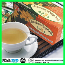 Hot Sale Instant Honey Ginger Tea, 18g x 10 sachets/box Lemon Ginger Tea
