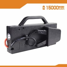 2017 jump start cable 15000mah power bank jump starter
