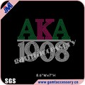 Custom AKA 1908 Rhinestone Heat Transfer Designs