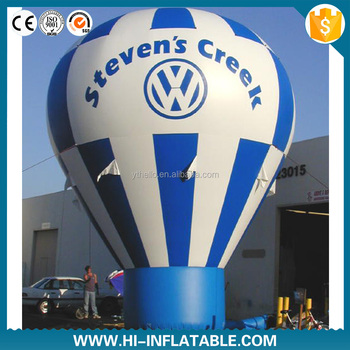Cheap price inflatable cold air balloon hot selling P4064