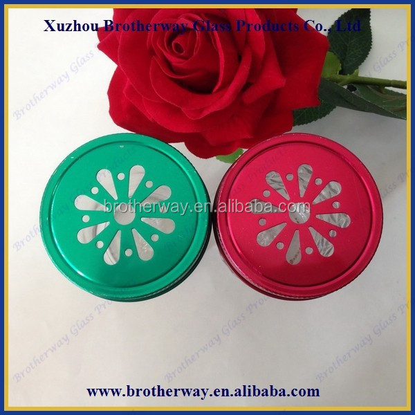 regular and widemouth mason jar daisy cut lid