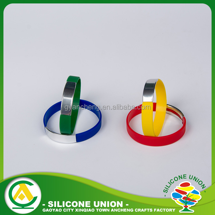 Various type economical exercise silicone waterproof balance wristband