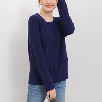 Basic Casual Style Knitted Manufacturer Ladies