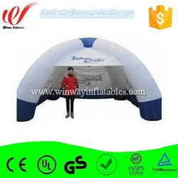 White playground inflatable camping tent,inflatable sports tent Y1038
