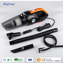 12V 120W 3in1 Portable heavy-duty car vacuum cleaner with air compressor and led light