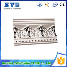 Customizable pu foam ceiling trim moulding for High grade residence