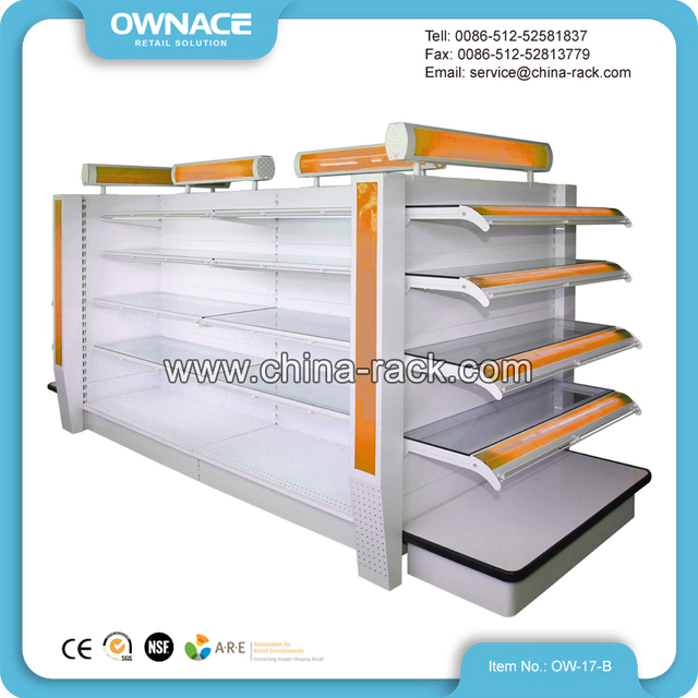 Beauty Products Shampoo Display Shelving Rack for Cosmetic Shop