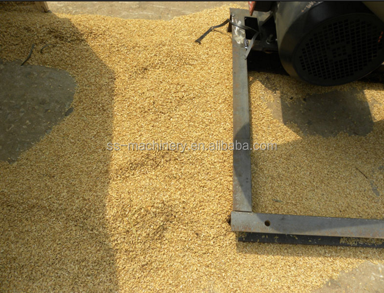 Commercial hulling separator rice hulling machine paddy sheller machine maize shell remove machine
