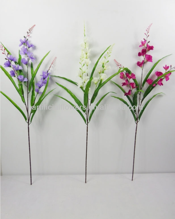 Artificial flower silk cloth orchids sword lily artificial gladiolus