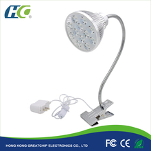 12W Led table stand grow light ,GC-01led plant grow light with stand