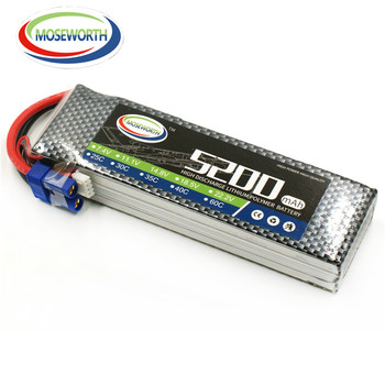 11.1v 5200mah lipo battery pack 3s 25C from china factory with best price