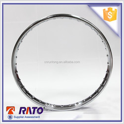 1.2*17 motorcycle spare parts, universal 36 spoke chrome motorcycle wheel rims