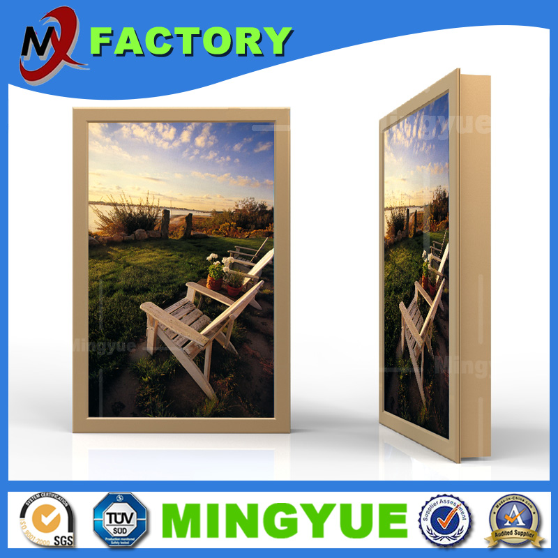 Wholesale A1 A2 A3 A4 Custom Aluminum Advertising Led Light Box Backlit Display