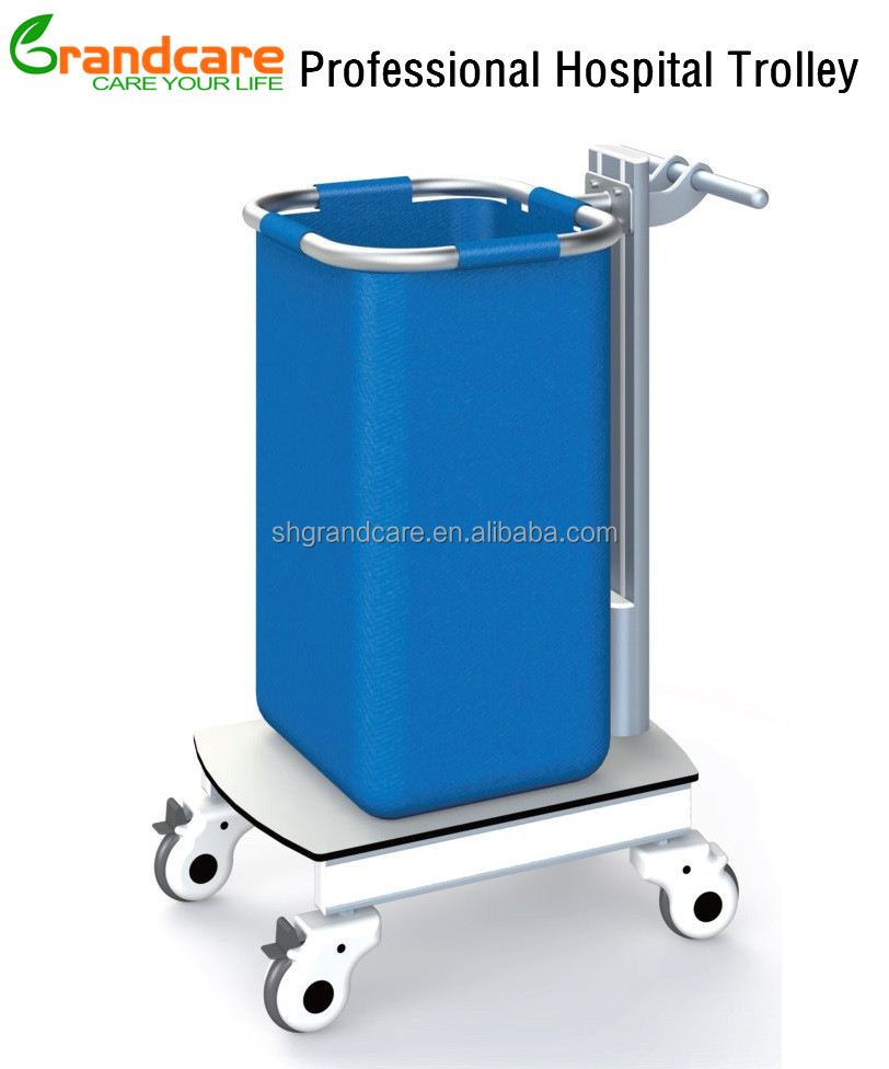 Washable Medical Cleaning Trolley Cart With Nylon Bags G-TN032