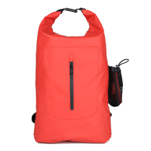 PVC tarpaulin swimming backpack, custom logo waterproof bag sports back pack for teens