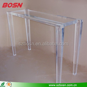Custom Acrylic Console Tables, Perspex Tables, Cheap Price