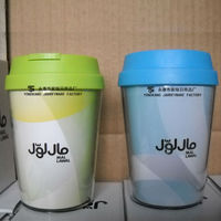 Hotsale Promotion Double Wall Acrylic Tumbler With Paper Insert