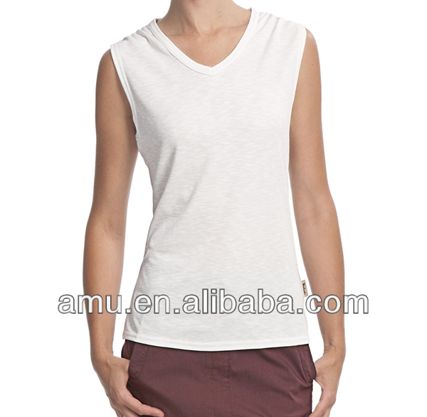 Trendy t shirt designs Plain white sleeveless t shirt korea design