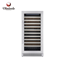 Electronic temperature control temperature and thermoelectric refrigerator refrigeration type wine cooler