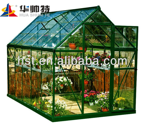 Anti- fog Polycarbonate Greenhouse with uv protection