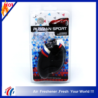 2016 new design black Boxing gloves style air freshener/hanging car air freshener/manly air freshener pendant