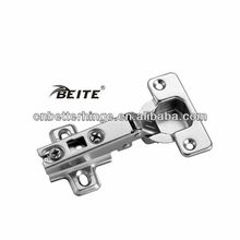 adjustable locking kitchen hinge with two holes