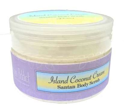 Borneo Addict Island Coconut Cream Santan Body Scrub with Virgin Coconut Oil