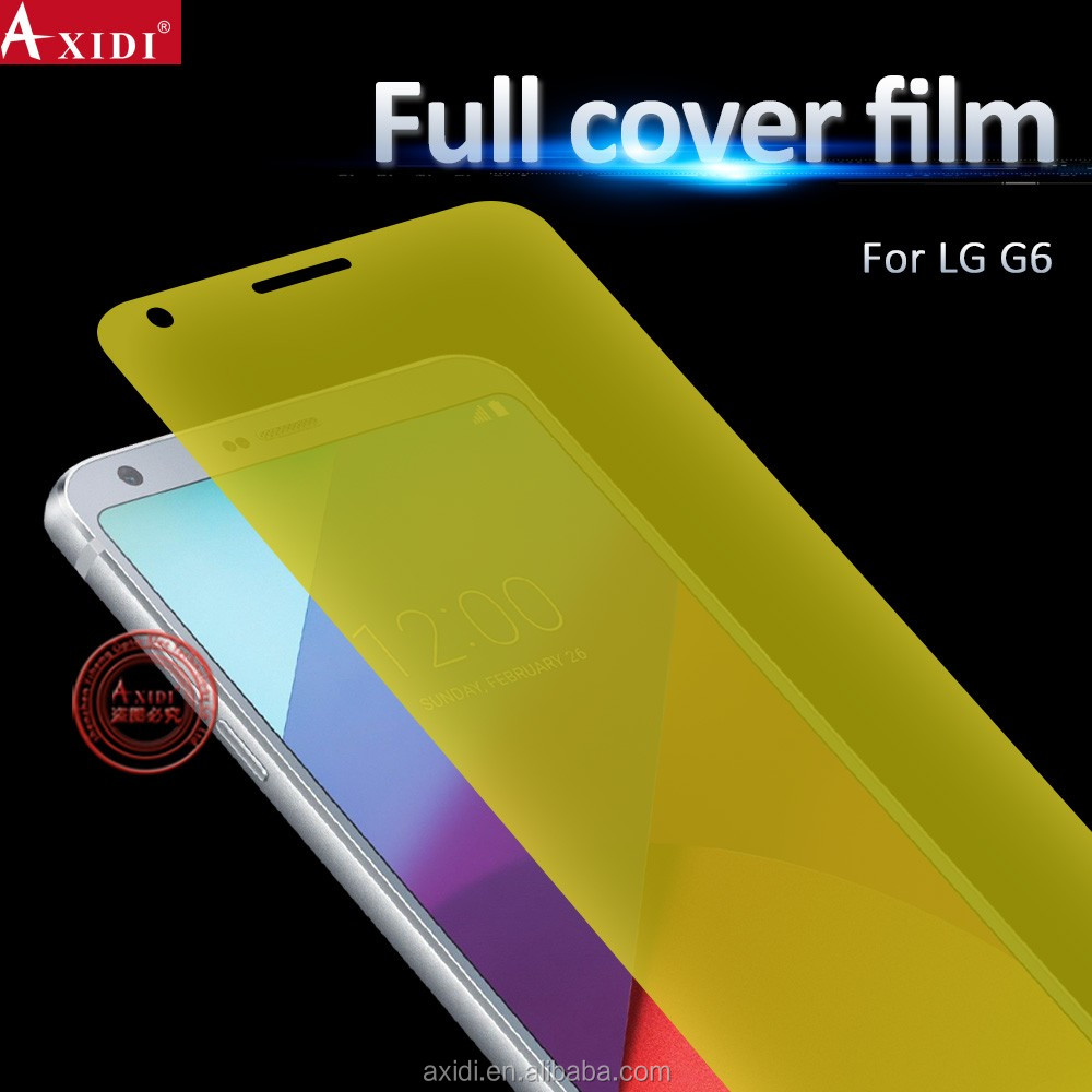 Suitable for All Curved Phones 3D Full Cover TPU Screen Film for LG G6/For LG G6 2017 3D Full Cover TPU Screen Film