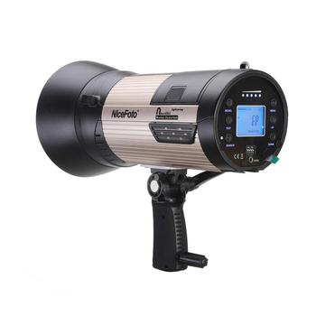 nflash680A NiceFoto 680ws Battery powered studio flash portable wireless flash light strobe flash light, photographic equipment
