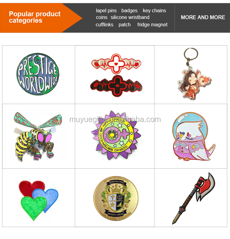 chinese supplier custom hard enamel pin with screen print