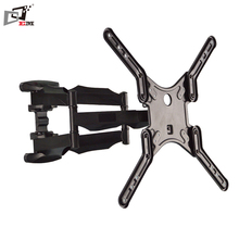 Retractable Swivel Articulating 22 Inch TV Wall Mount For 19-55 Inch