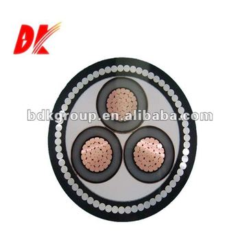 XLPE/SWA/PVC multicore armoured power cable 600/1000v