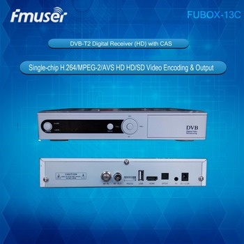 FUBOX-13C HD DVB-T2 MPEG2 H.264 AVS SET TOP BOX with CA STB