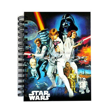 Star War Spiral notebook