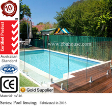 ss316 pool fencing safe gaurd glass fence balustrade fittings with starphire glass