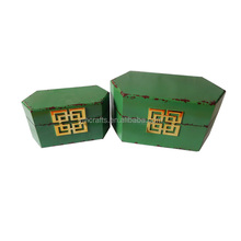 Paint wood box for decoration