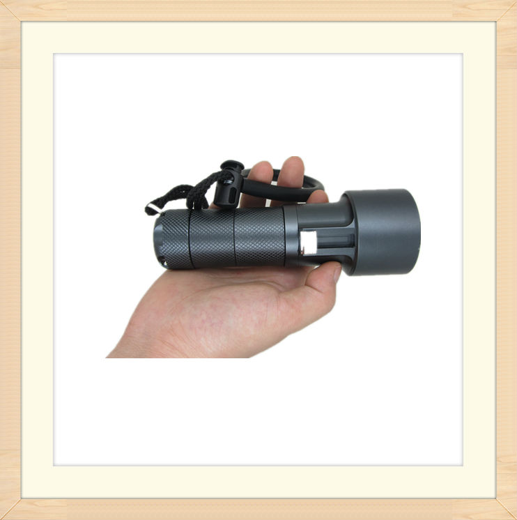 400feet cree q5 led waterproof diving flashlight for scuba and divers TC05